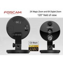 Foscam C2 - 2.0 Megapixel Cube IP Camera
