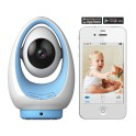 Foscam FosBaby P1 AZUL (Plug&Play) Pan/Tilt Wireless N 720P  Camara HD