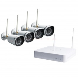 Foscam FN3104W-B4 720P 4-Channel Wireless NVR