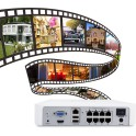 Kit Videovigilância Foscam 8-Camâras HD