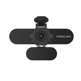 Foscam Webcam W21 Full HD 2Mpx 1080P Audio, compatível com Windows, Linux, Mac e Android.